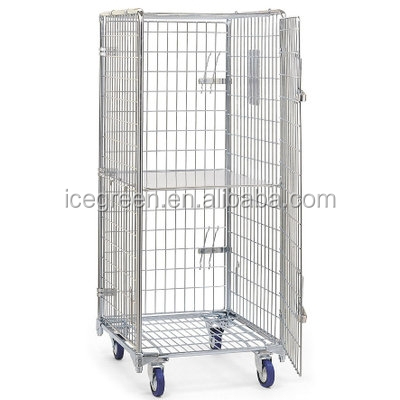 Zinc Plated Wire Security Roll Cage