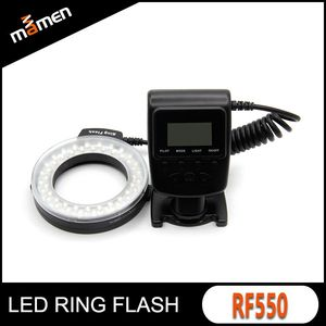High Quality Wholesale 3 Colors Macro Flash Speedlight Camera Flash Light Special led Ring Flash Light For Canon