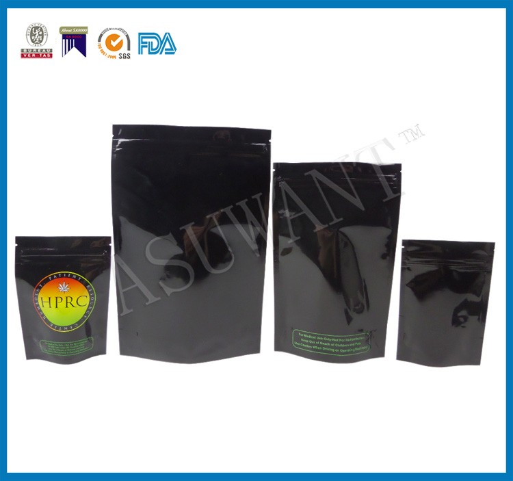 china factory custom printed smell proof packaging bag for tobacco seeds and 1kg tobacco