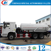 6x4 New 10000L 12000L 15000L Sewage sucker truck for sale