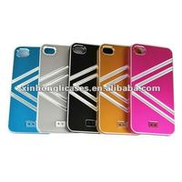 Mobile phone alum cases V patrren for iPhone 4/4s HOT SALE