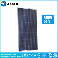 High efficiency 310w poly PV price per watt solar panels