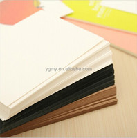 Blank Greeting Card Kraft Paper Postcard Vintage Blank Postcards DIY Hand Painted Graffiti Card Message Card