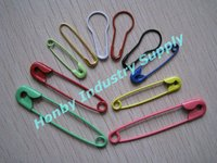 China Coloured Metal Safety Pin for Binding