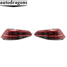 Car Styling for VW Golf 7 Tail Lights 2013-2015 Golf7 MK7 LED Tail Light GTI R20 Rear Lamp LED DRL+Brake+Park+Signal