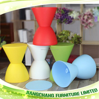 kids multi-color high quality cheap plastic chair prince stool JC-PS1600