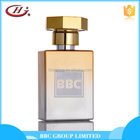 BBC Metallic Series-MF009 Good quality attractive gold color oem charm royal men perfume