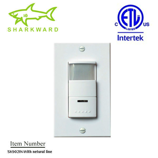 SK902IN 60% energy saving!!!American model Dual technology pir motion sensors light switch(120/277V,ETL,PIR+SOUND)