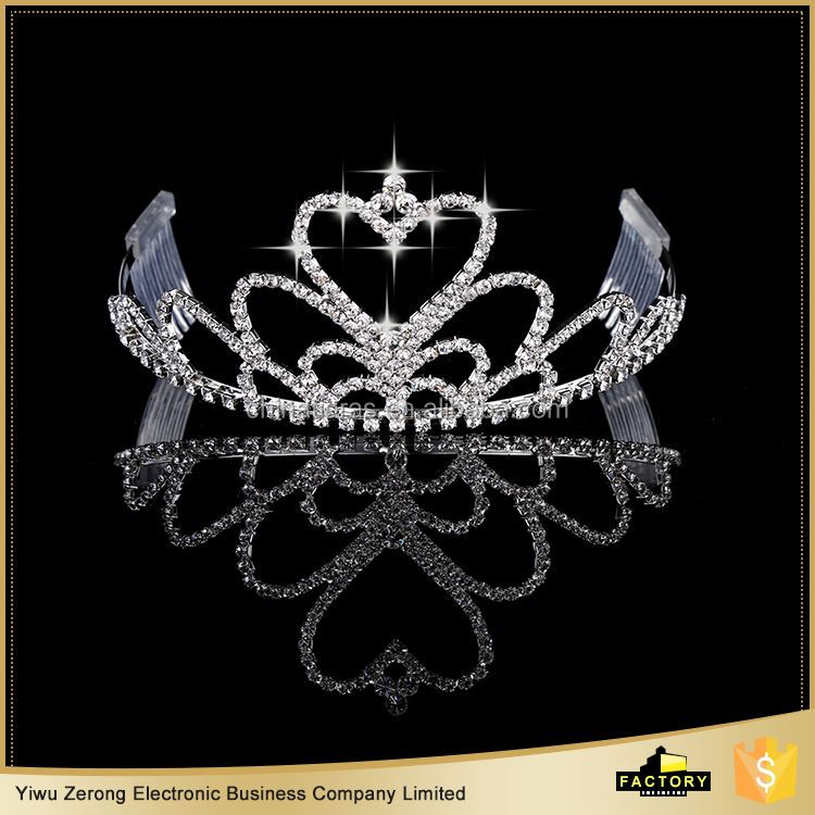 MAIN PRODUCT good quality best rhinestone tiara with many colors