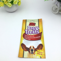 dog treats plastic packaging bag/dog food packaging