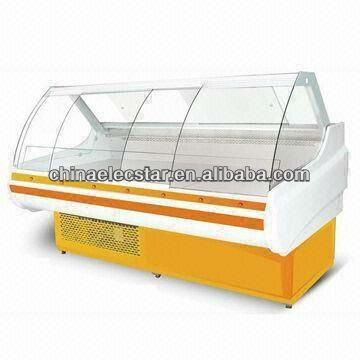 Deli Sliding Curved Glass Serve Over Counter with 1.8/2.4/3.6m Optional Width