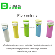 Portable mini colordul usb power bank restaurant small and convenient disposable mobile power bank