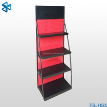 customized metal stand plate display stand retail display racks