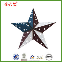 Patriotic Barn Star Red White and Blue Dimensional Barn Star Home decor