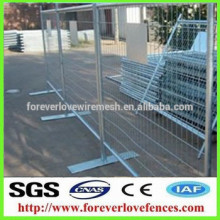 canada temporary fence for domestic housing sites/residential housing sites Municipal guardrail Municipal guardrail