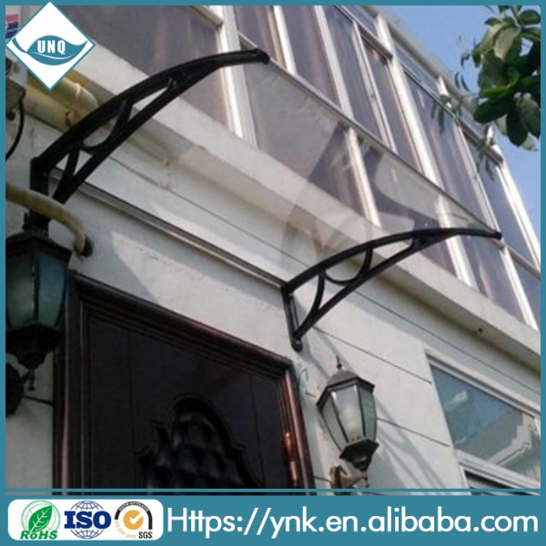 durable polycarbonate window awnings