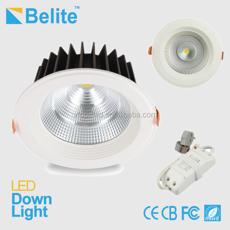 10W led ceiling light COB LED 3 insh 95mm cut out dimmable option