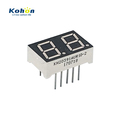 Ultra Red 0.39 Inch Dual Digit 7 Segment Led Display Common Anode