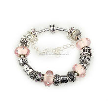 hottest products on the market of life bracelet & large hole glass beads bracelet