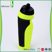 Promotional fashionable private label custom reusable drinking 500mL plastic sports bottle water