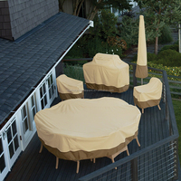 600D polyester outdoor chair cover