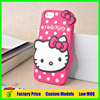 Hello kitty Silicone phone case for samsung galaxy j5 cell phone case cover