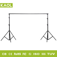 Popular rust resistant collapsible photo studio wedding banner portable aluminum event stage diy backdrop background stand