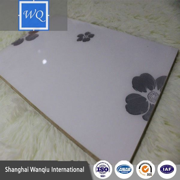 UV MDF Board Flower Design UV Board for Cabinet Wardrobe Designs