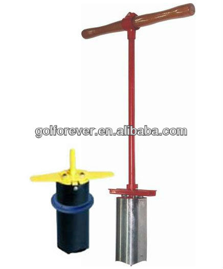 golf hole digger for golf course tools
