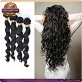 alibaba ganrantee 100% vigin human hair bundles loose wave hair extension 8-26inch available