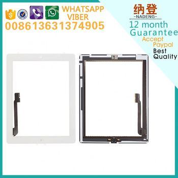 OEM glass for ipad 4 glass original quality Accept paypal
