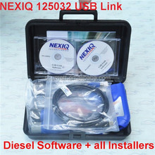 Professional truck scanner NEXIQ 125032 USB Link for diesel vehicles car truck used OBD scanner tool