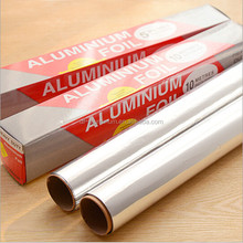 Factory price disposable food packing alu foil roll