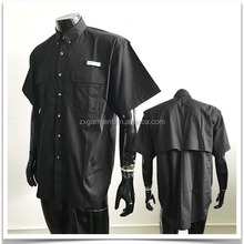 Men's Short Sleeve Button Down Fishing Shirts with Comfort and Softness Fabric