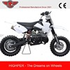 Newest Model Good-quality 2 Stroke Mini Dirt Bike For Sale with CE Approval(DB501A)