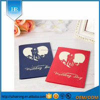 Wholesale Folding Blank Paper Wedding Invitation Card