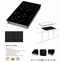3400W Cooking Hot Plate 2 Burner Electric Stove Induction Cooker