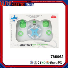 Pocket electric suspension child toy dropable mini four - axis remote control aircraft for sale