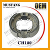 High Efficiency Motorcycle Parts CH100 Motorcycle Brake Shoe