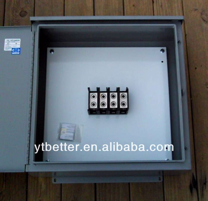 precision round electrical junction box customized