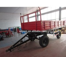 5T TWIN AXLE DUMPING FARM trailer in Mongolia