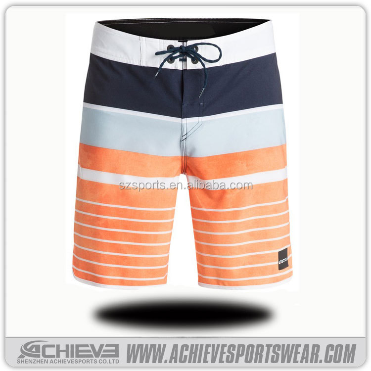 custom made men's board shorts with fly