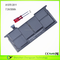 "Li-ion Polymer 020-7376-A Supply Brand new laptop batteries for MacBook Air 11"" A1370 2011 Version computer battery"