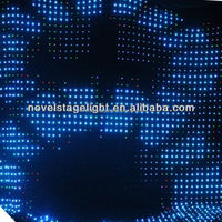 P8 4m*4m led video curtain for DJ/stage backdrop