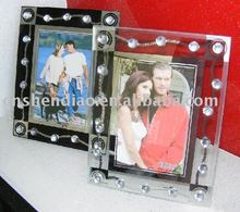Supply glass photo frame