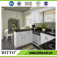 High quality black fire-proof polyester solid surface countertop