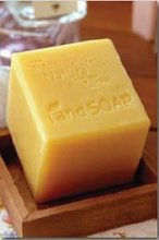 Natural Honey Soap Green Hands