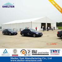 Aluminum alloy frame15m waterproof rent a warehouse tent for rent