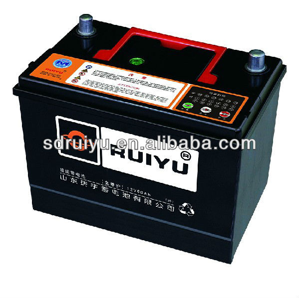 12Volt Top Quality Lead Acid Car Battery 65D26R