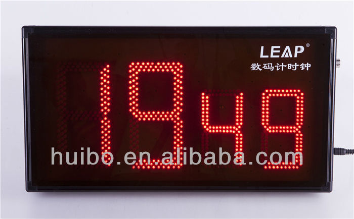 4 digits LED digital sport countdown clock/timer